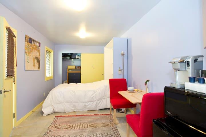 Quiet studio, 5-min walk from BART - Lafayette - Wohnung