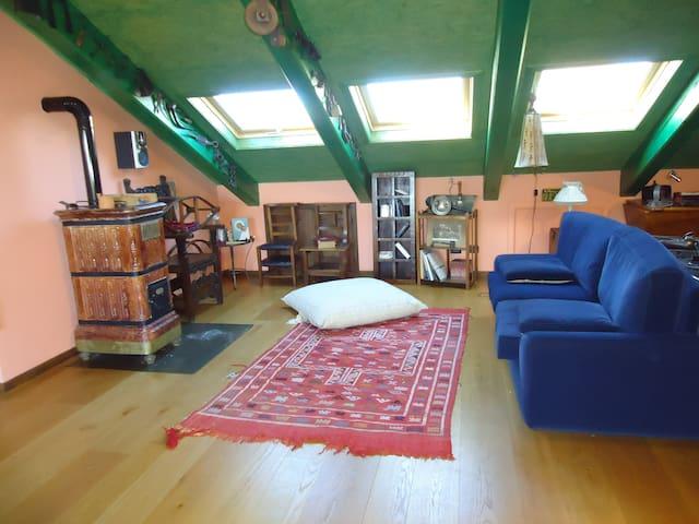 LIGHT ATTIC IN CHIERI CENTER (TO) - Chieri - Apartamento