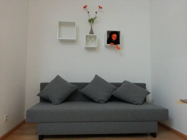Sunny studio, 18m² - Oberried - Casa