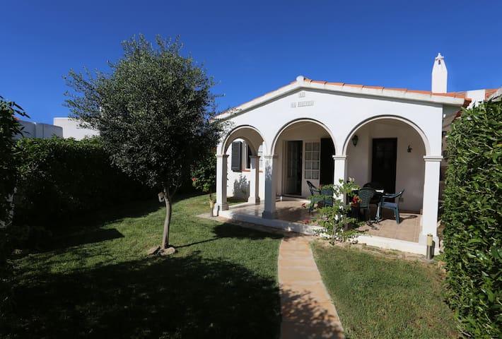 Casa con encanto en la playa, jardín y piscina - Ciutadella de Menorca - Casa