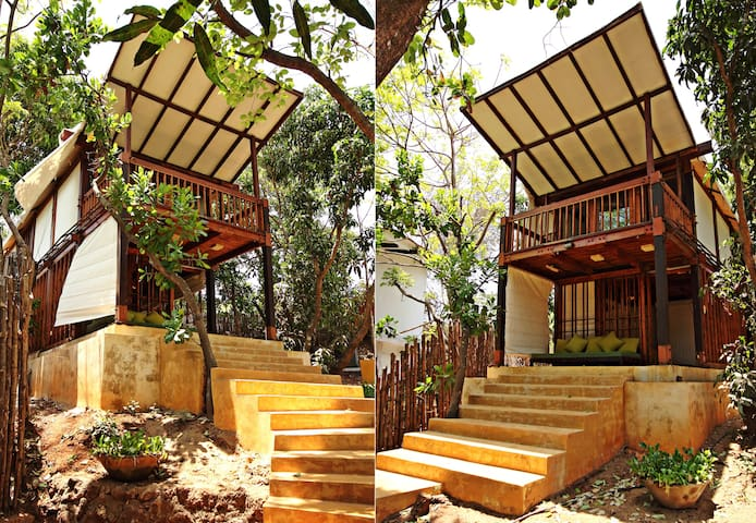 Beach Side Tree House Experience   - Pernem - Boomhut