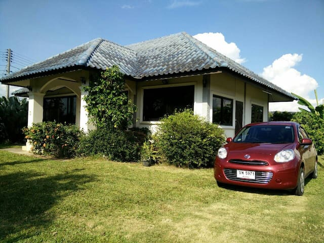 Modern house with car - 170 Moo. 3   T. Mae Faek  A. San Sai