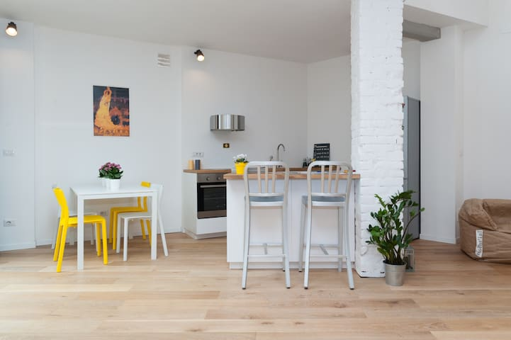 GREAT NEW LOFT TO LOVE TURIN - Turín - Loft
