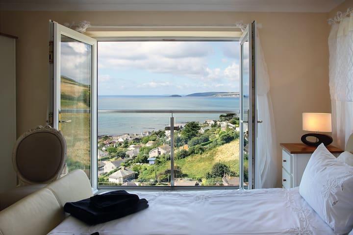 Cornish House with Stunning seaview - Downderry - Rumah