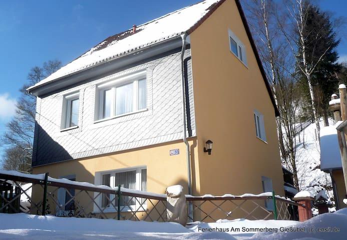 Ferienhaus*** im Thüringer Wald (4Personen, 94qm) - Schleusegrund - Casa