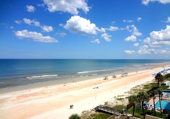 Oceanfront Penthouse 3 Bdr Paradise - Daytona Beach Shores - Lägenhet