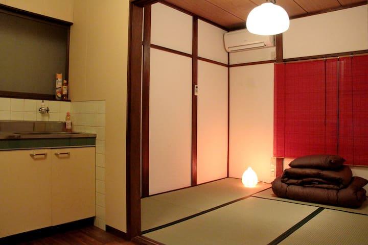OSAKA-Private Japanese Style☆TATAMI ROOM*No.5 - Osaka-shi