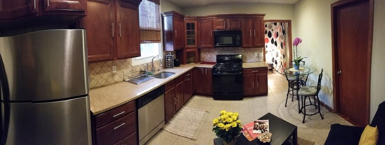 Great Apart for 4 guests, very close to NYC - Kearny - Pis