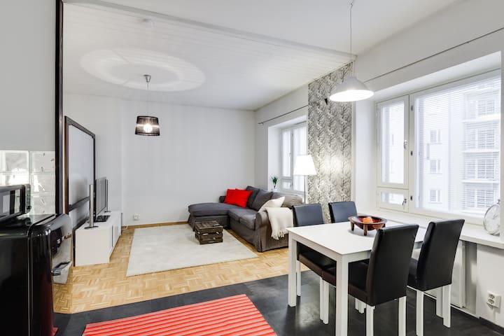 Cosy Helsinki Inner City Apartment - Helsinki - Leilighet
