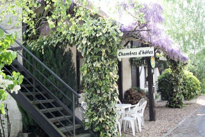 Studio 2 personnes en Val de Loire - Monthodon - Wohnung