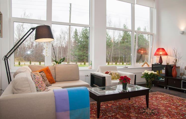 Modern cottage in forest near Riga - Atari - 獨棟