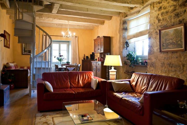 Duplex in a village in the Dordogne - Terrasson-Lavilledieu - Lägenhet