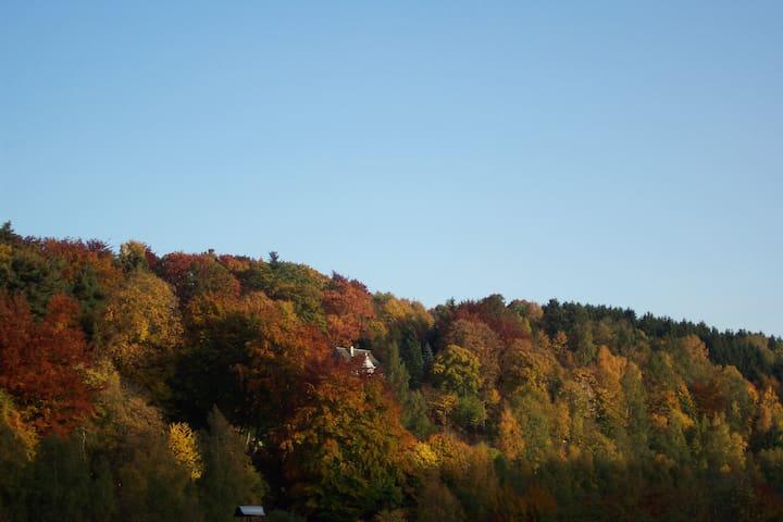 Ferienzimmer im Erzgebirge (Doppelzimmer) - Annaberg-Buchholz - Huis