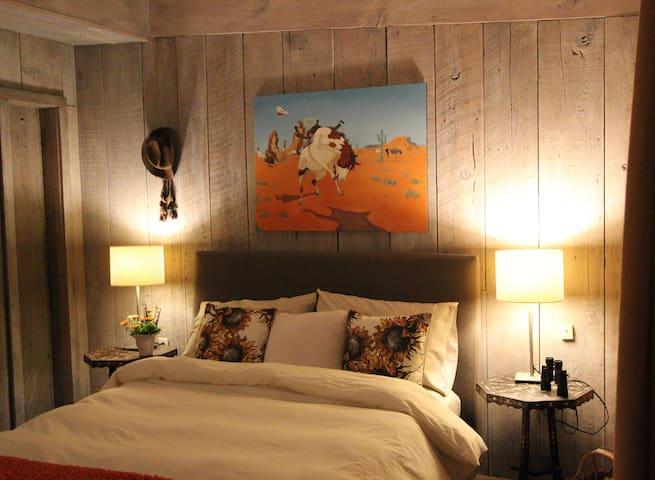 The Cowhand Room at FlipJack Ranch - Santa Cruz - Bed & Breakfast
