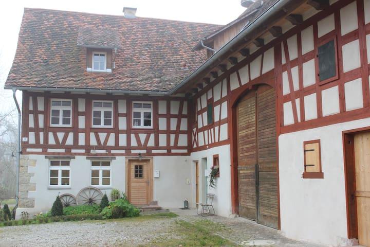 historic half-timber building - Deißlingen - Pis
