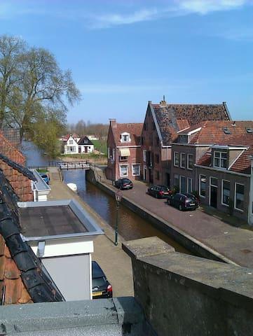 Luxe studio in oude stadshart - Franeker - Townhouse