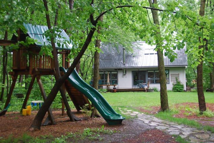 Maison familiale dans sous-bois - Beloeil - Maison