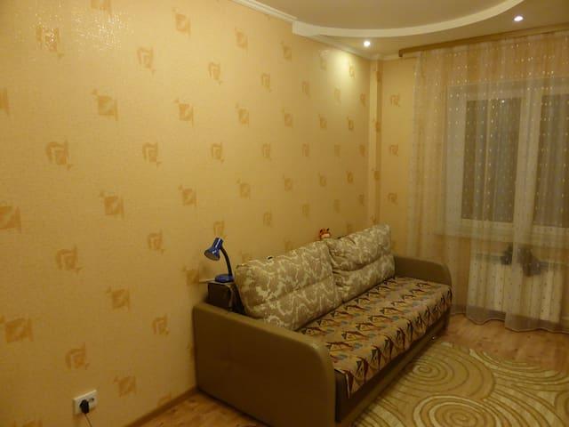 Уютная комната недалеко от Невы - Kirovsk - Lägenhet