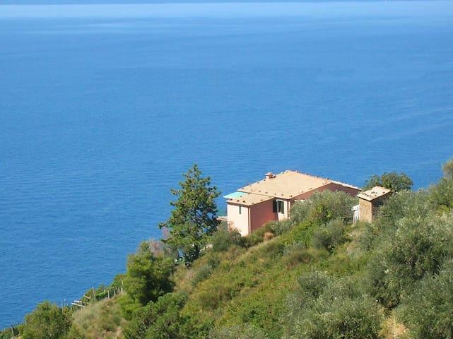 Poggio del Salice: apt Montaretto - Bonassola - Apartemen