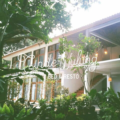 Cindewulung Bed & Resto - Room #7 - Carita - Labuan - Bed & Breakfast