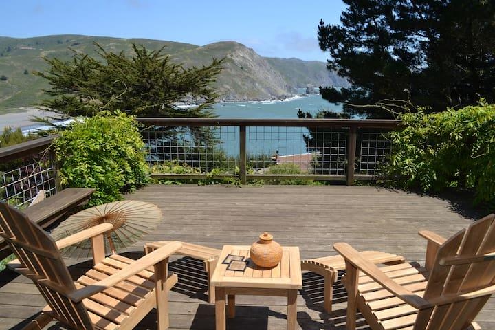 Muir Beach Home, Spectacular Views! - Muir Beach