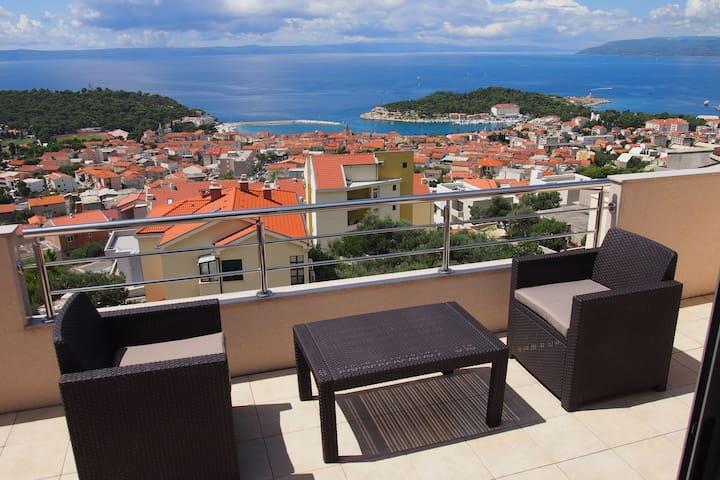 Luxury studio apartment - Makarska - Daire