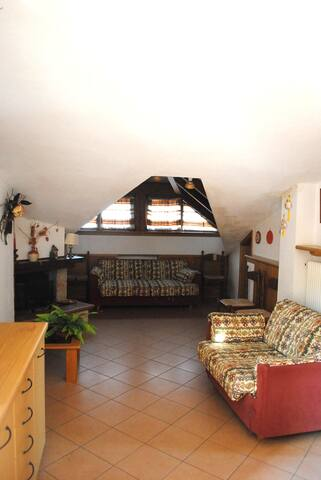 Lovely apartment with lookout close to ski-resort - Andalo - Appartement