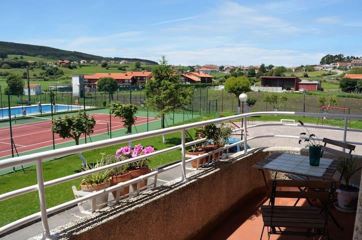 El Balcón al Descanso - Ajo - Lägenhet