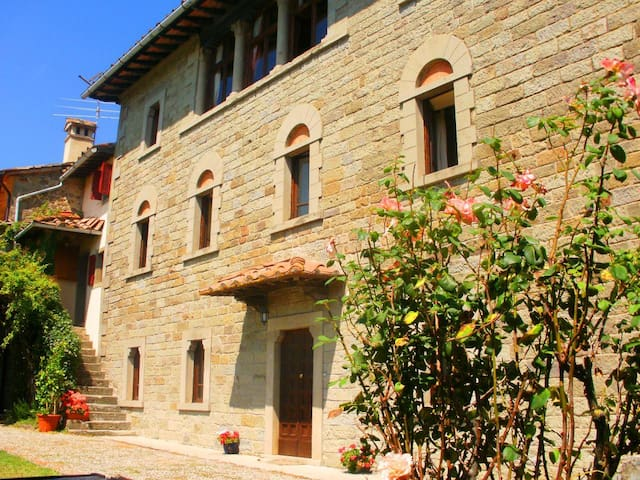 Large Manor House with private pool - Caprese Michelangelo