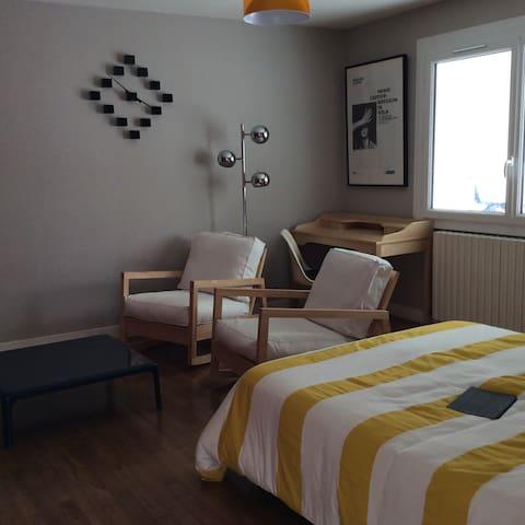Charmant appartement à la campagne - Ozillac - Apartemen
