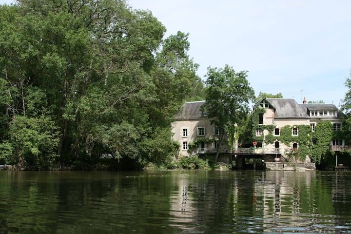 Loire valley : 18th century Mill - Monts - Leilighet