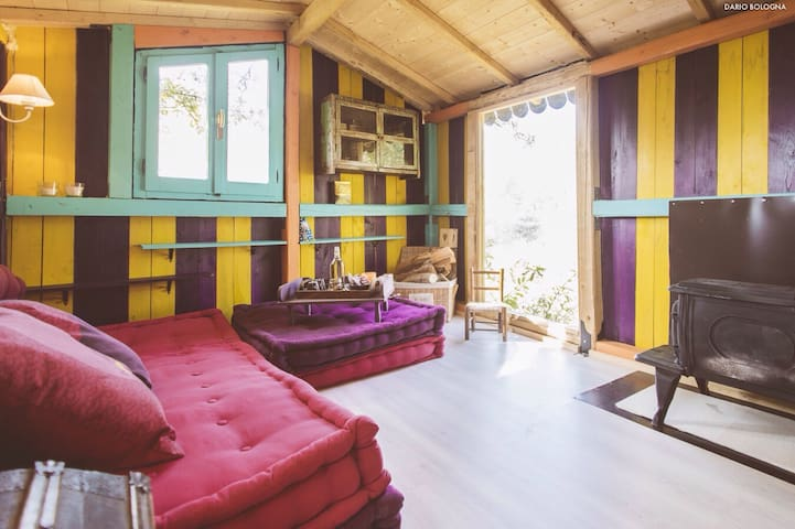 Casa Capanna sull'albero-Tree House - Pian Bottello - 樹屋