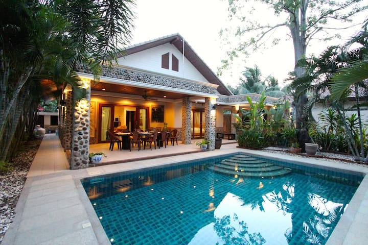 4 BEDROOM GARDEN VILLA NEAR BEACH - Hua Hin
