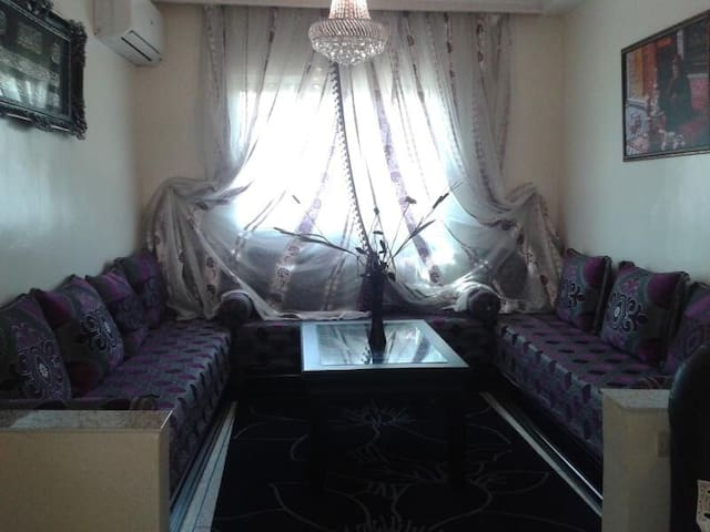 Appartment near Casablanca airport - Deroua - Lägenhet