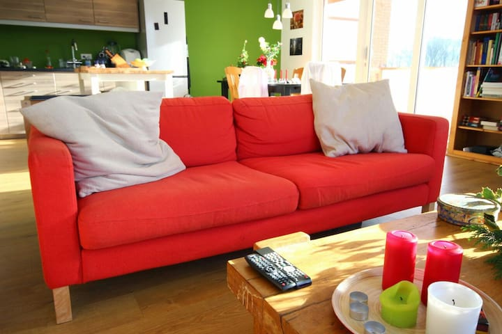Comfy couch, 8 mins from airport - Eindhoven - Appartement