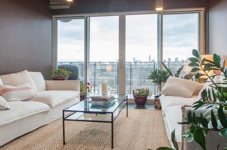 Manhattan Luxury Minutes To Midtown - Weehawken - Loft