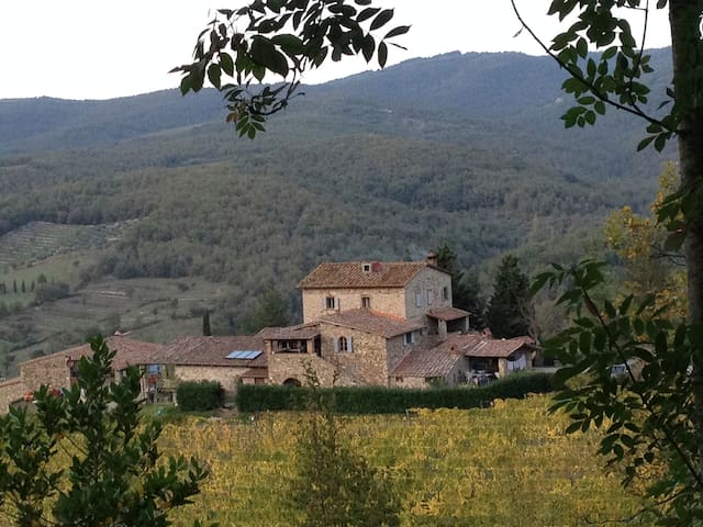 Romantic House in Winery - Radda In Chianti - Rumah