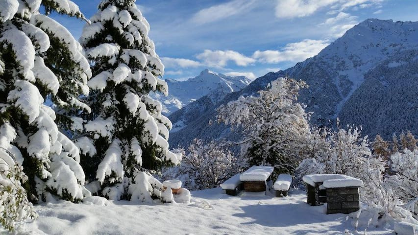 Appartamento in Val d'Ayas - Valle d'Aosta - Antagnod