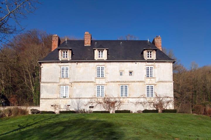 Room in 16th century manor - Villequier - Bed & Breakfast