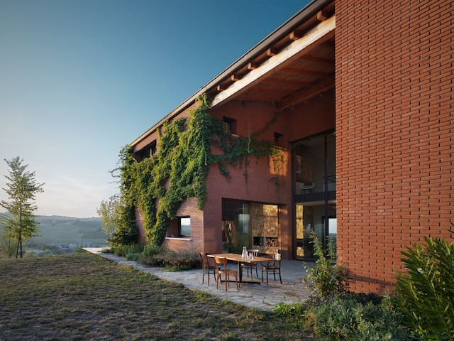 Contemporary Country House - Pianello Val Tidone - Huis