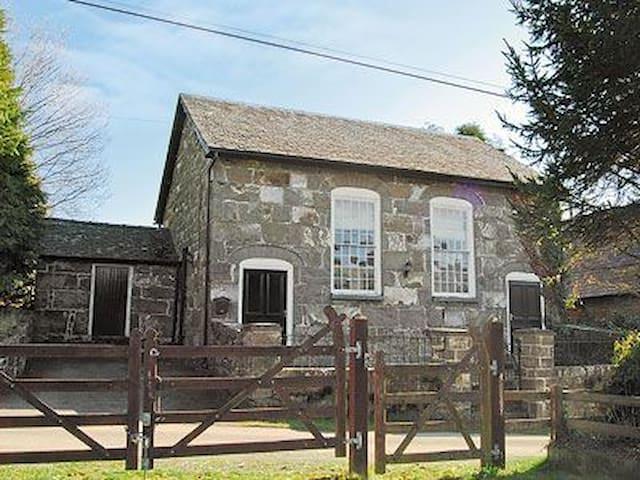 Grade 2 listed chapel in Mid Wales, - Bont Dolgadfan