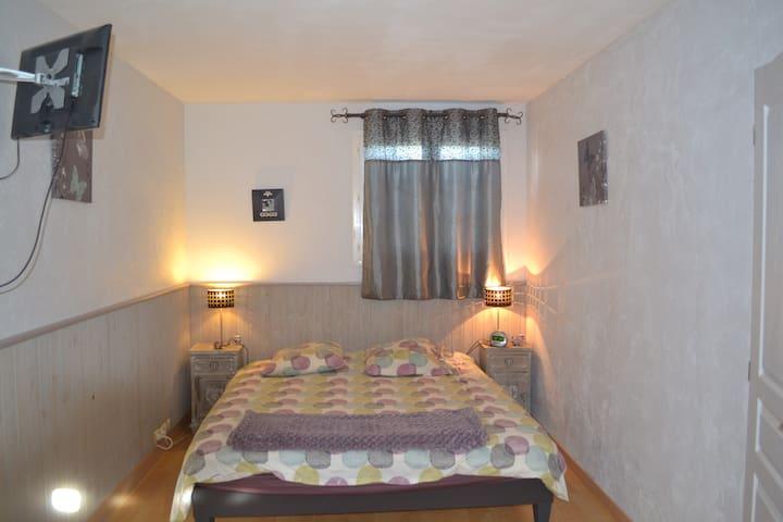 grande chambre indépendante - Labastide-de-Lévis - Rumah