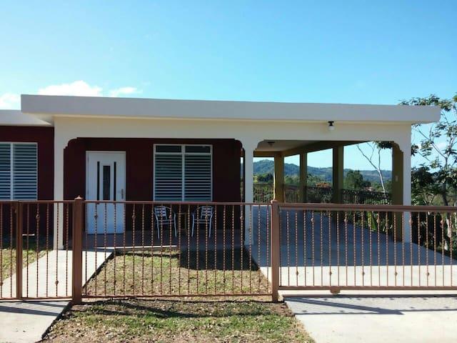 Vista Sol, Casa Luz, Mountain View, on 10 Acres - Las Marias - Hus