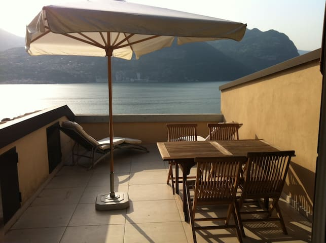 Apt in residence with swimming pool - Menzino - Appartement