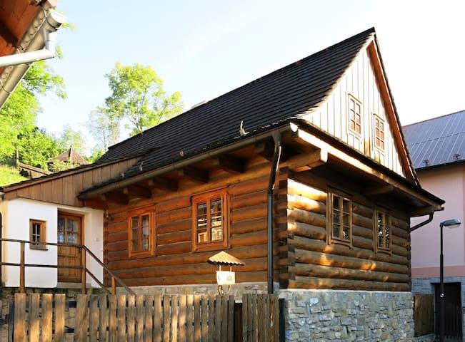 Cozy Wooden House in the Center - Štramberk - Maison