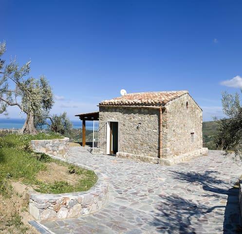 Charme Villa beautiful view sea pool - Collesano - Villa