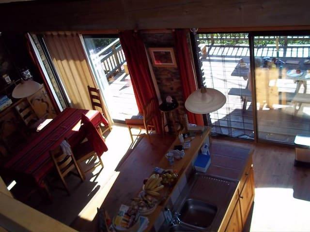 Lovely house with wonderful view - Ayguatebia Talau - Huis