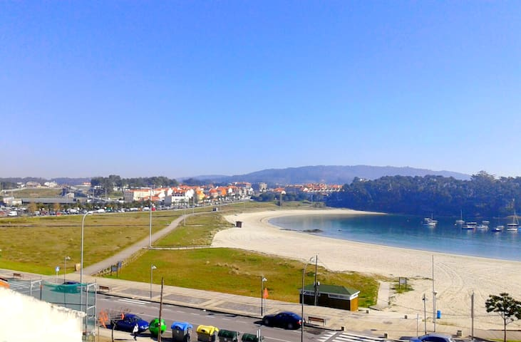 Ático a pie de playa en Portonovo - Portonovo - Apartament