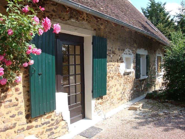 La Bouinotte : cottage in the countryside (4p) - Thou - Huis