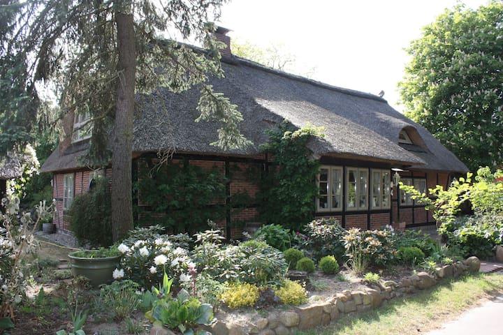 Mühlenkate an der Elbe bei Lüneburg und Hamburg - Hittbergen - Huis